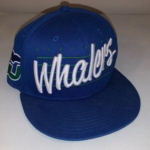 Hartford Whalers Vintage Hockey SnapBack